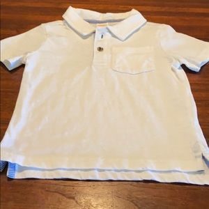 Gymboree White polo shirt 2 T